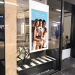 Hanging Double - sided window display