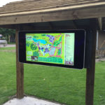 Outdoor Touch Image - LCD display