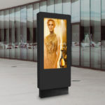 Outdoor Freestanding LCD totem